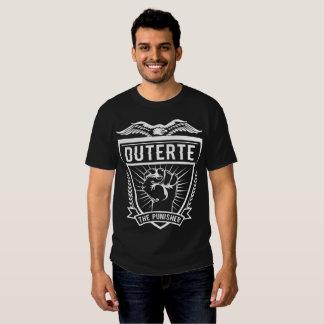 Duterte el castigador para el presidente remeras