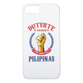 Duterte - El Presidente iPhone 7 case