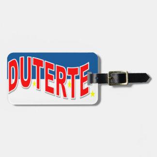 Duterte Luggage Tags