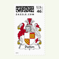 Dutton Family Crest Stamps