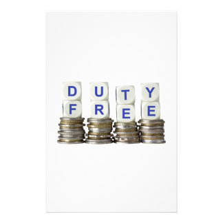 Duty Free Stationery
