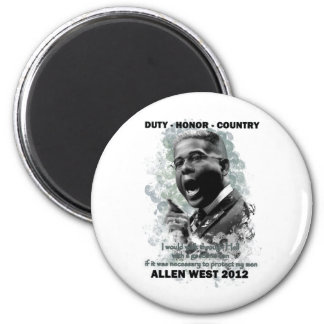 Duty Honor Country Magnet