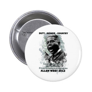 Duty Honor Country Pinback Button