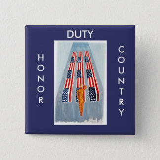 Duty Honor Country Troops Button