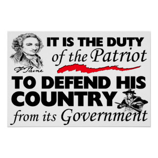 """""""Duty Of The Patriot"""" Print"""