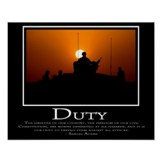 Duty Poster