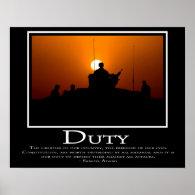 Duty Print