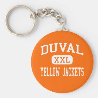 Duval - chaquetas amarillas - alto - Griffithsvill Llaveros Personalizados
