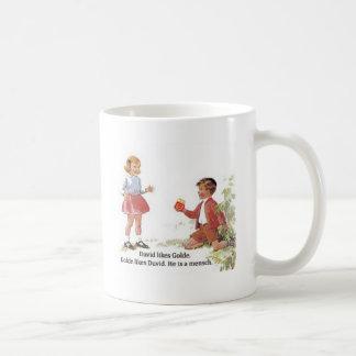 Duvid likes Golde. Coffee Mug