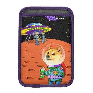 Dux Astro de Shibe y el dibujo animado de los Funda iPad Mini