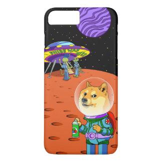Dux Astro de Shibe y el dibujo animado de los Funda iPhone 7 Plus