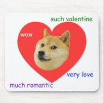 Dux mucho del día de San Valentín amor mismo tales Alfombrilla De Raton