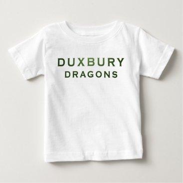 Beach Themed Duxbury Dragons Baby Baby T-Shirt