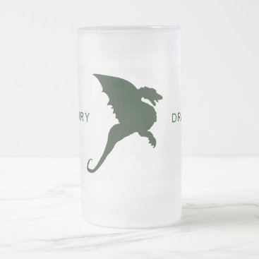 Duxbury Dragons DUX Frosted Glass Beer Mug