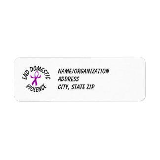 DVA Ribbon (humanized) Return Address Labels