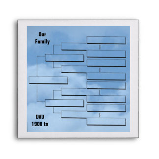 DVD Family Envelope Square