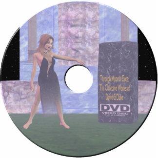 dvd label statuette