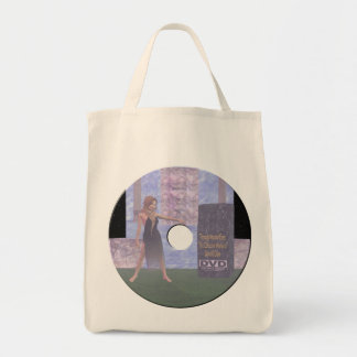 dvd label tote bag
