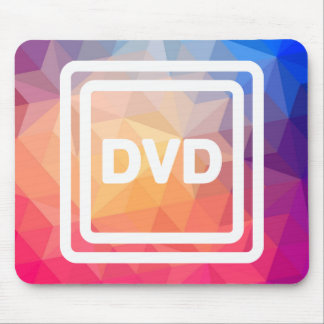 Dvd Labels Pictogram Mouse Pad