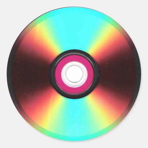 DVD Stickers
