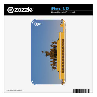 Dvortsovaya Square, Triumphal Arch, sunset 2 Decals For iPhone 4S