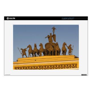 "Dvortsovaya Square, Triumphal Arch, sunset Decal For 15"" Laptop"