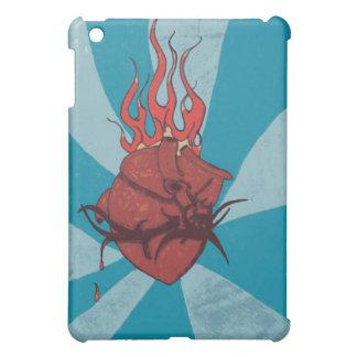 DVP Flaming Heart iPad case