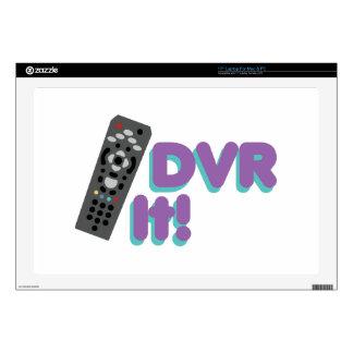 """DVR It 17"""" Laptop Skin"""