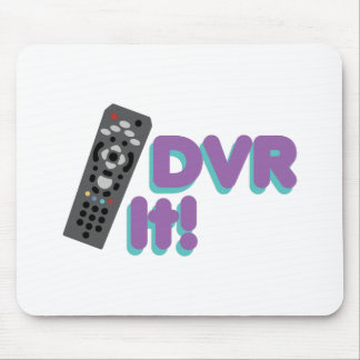 DVR It Mouse Pad