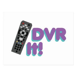 DVR It Postcard