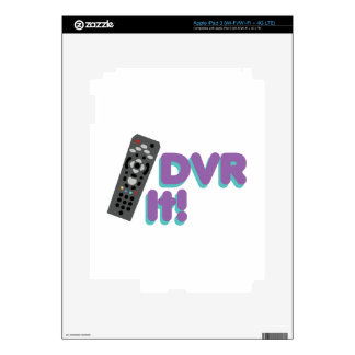 DVR It Skins For iPad 3