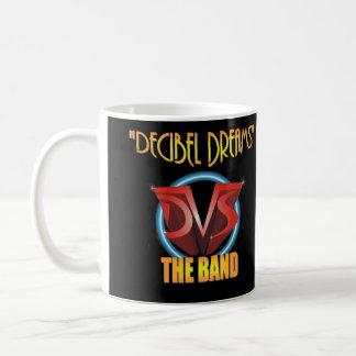 DVS el decibelio de la banda soña el álbum CD Taza Básica Blanca