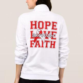 DVT Hope Love Faith Survivor Jackets