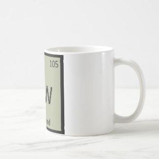 Dw - Dill Weed Chemistry Periodic Table Symbol Coffee Mug