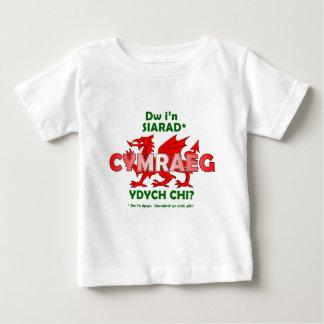 Dw i'n siarad Cymraeg - dw i'n dysgu Baby T-Shirt