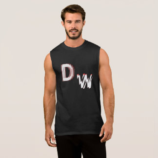 DW Logo: Men's Ultra Cotton Sleeveless T-Shirt