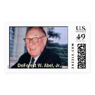 dwa squantum, DeForest W. Abel, Jr. Postage