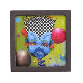 Dwainizms BlueMan Small Wood Gift Box
