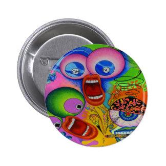 """Dwainizms """"OH NO!"""" Brilliant-Colored Round Button"""