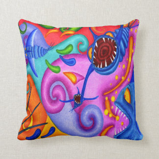 "Dwainizms ""Party Poopers"" Throw Pillow 16 x 16"