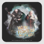 Dwalin and Balin Square Sticker
