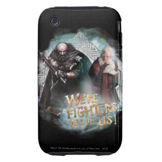 Dwalin and Balin Tough iPhone 3 Case