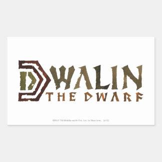 Dwalin Name Rectangular Sticker