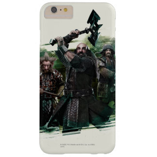 Dwalin, Nori, & Bofur Graphic Barely There iPhone 6 Plus Case