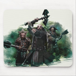 Dwalin, Nori, & Bofur Graphic Mouse Pad