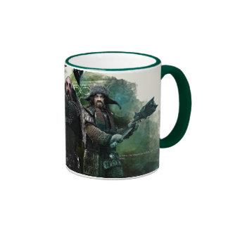 Dwalin, Nori, & Bofur Graphic Ringer Coffee Mug
