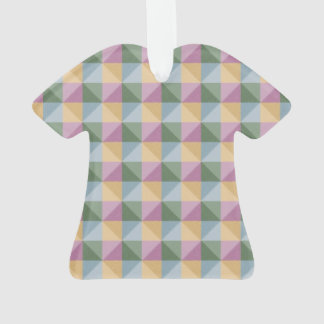 Dwan Abstract  square and triangle pattern Ornament