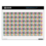 Dwan Abstract  square and triangle pattern Skins For Netbooks