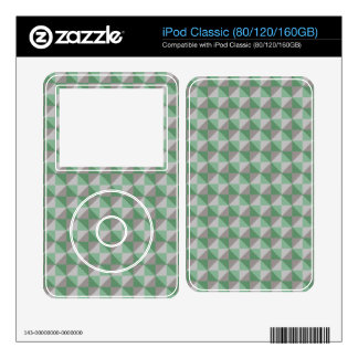 Dwan abstract square and triangle pattern iPod classic decal