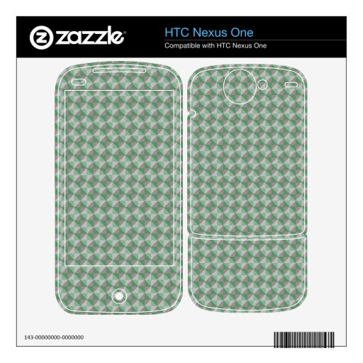 Dwan abstract square and triangle pattern skin for HTC nexus one